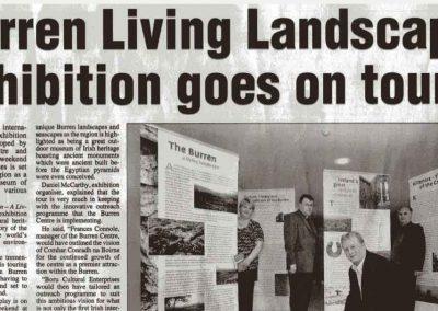 The Burren, A Living Landscape International Touring Exhibition