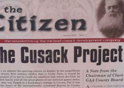 The Citizen, the Newsletter of the Michael Cusack Project